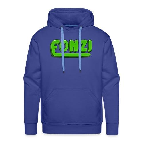 FONZI Official Logo - Felpa con cappuccio premium da uomo