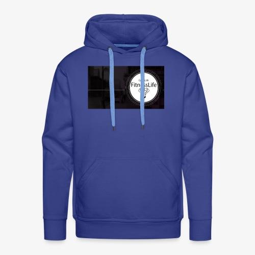 FitnessLife - Sweat-shirt à capuche Premium pour hommes