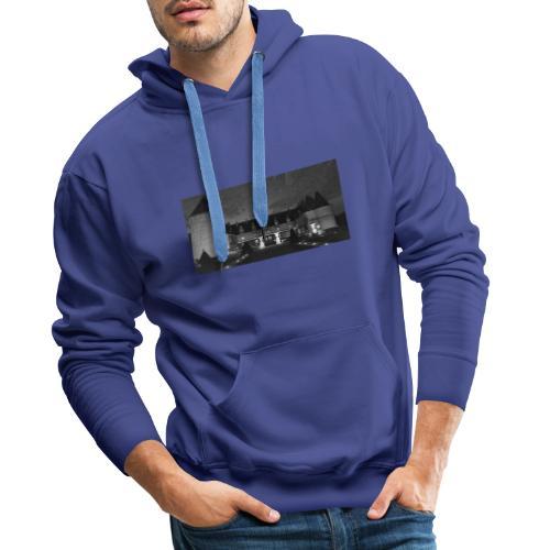 Chrome castle - Sweat-shirt à capuche Premium pour hommes