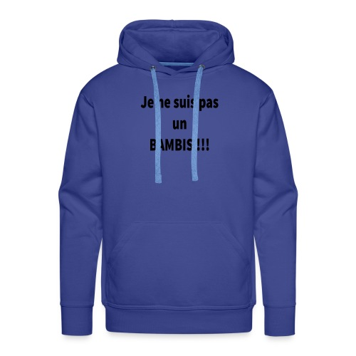 Bambis - Sweat-shirt à capuche Premium pour hommes