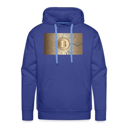 bitcoin 3089728 1920 - Männer Premium Hoodie