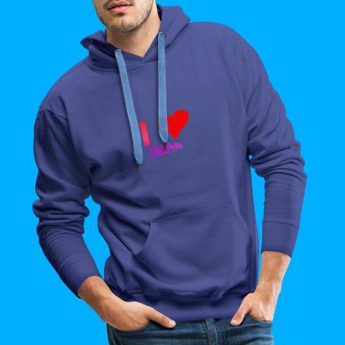 I Heart Potato T-Shirts - Men's Premium Hoodie