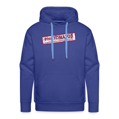 PhotoMatos - Sweat-shirt à capuche Premium pour hommes