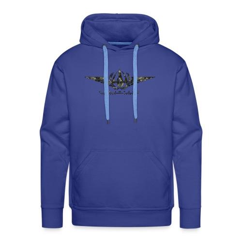 OPT Logo camo sechsecke - Männer Premium Hoodie