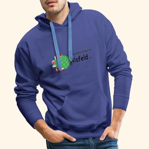 Städtepartnerschaft Alsfeld - Männer Premium Hoodie