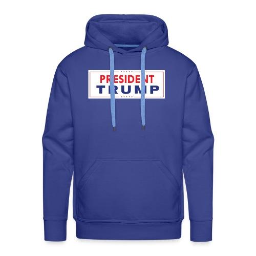 President Trump (White) - Men's Premium Hoodie