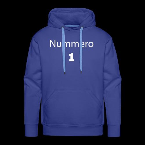 1 - Männer Premium Hoodie