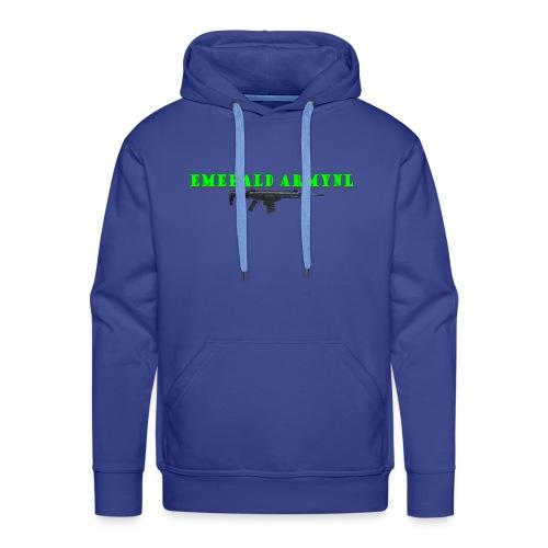 EMERALDARMYNL LETTERS! - Mannen Premium hoodie