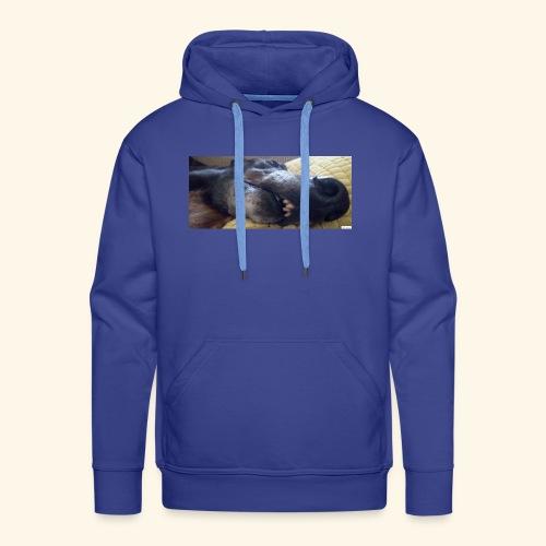 Greyhound head - Men's Premium Hoodie