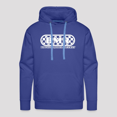 All white BMR logo - Men's Premium Hoodie