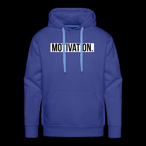 Motivation - Männer Premium Hoodie
