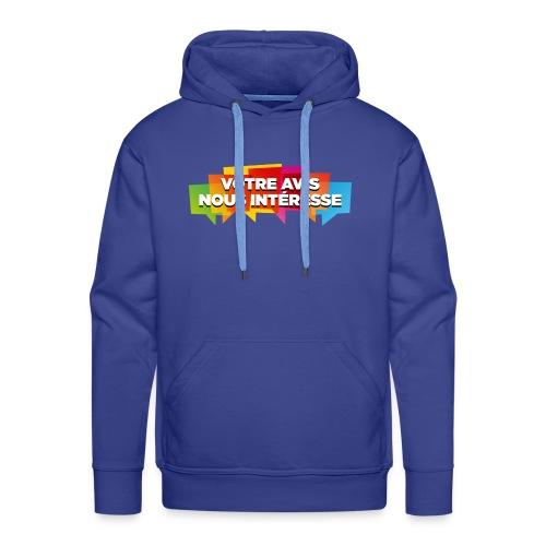 DocZslogan - Sweat-shirt à capuche Premium pour hommes
