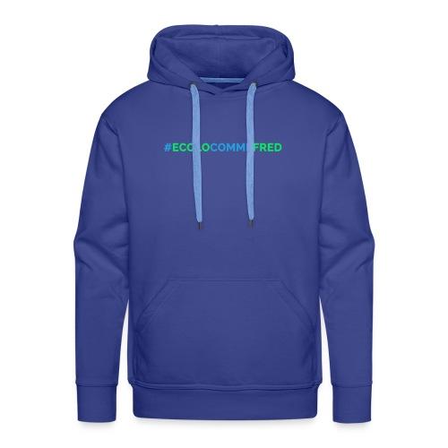 ecolocommefred - Sweat-shirt à capuche Premium pour hommes