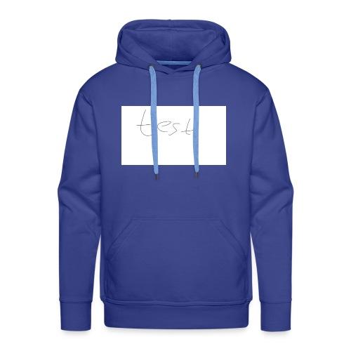 testshirt123 - Männer Premium Hoodie