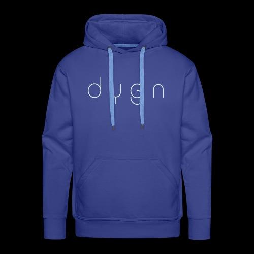 Dygn logo by Monsi Barrionuevo - Men's Premium Hoodie