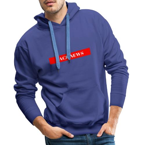 ZACK NEWS - Männer Premium Hoodie