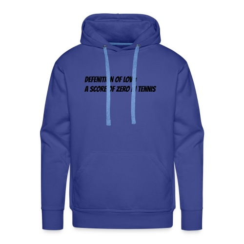 Tennis Love sweater men - Mannen Premium hoodie