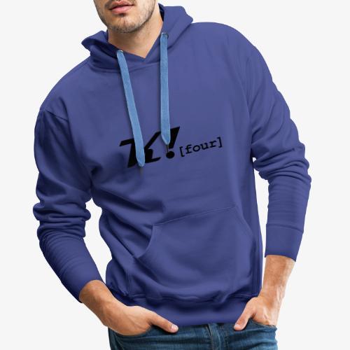 Unser Stil - Männer Premium Hoodie