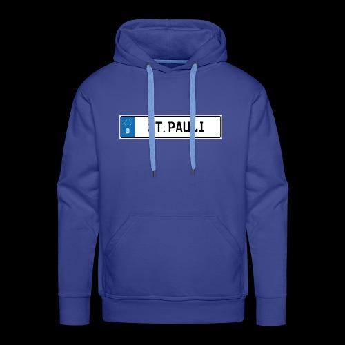 Kennzeichen St.Pauli - Männer Premium Hoodie