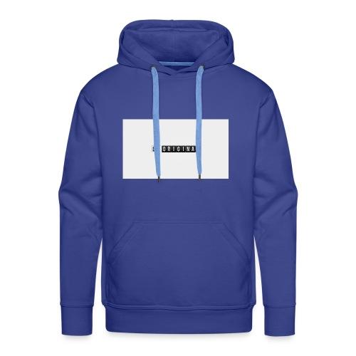 Be original - Sudadera con capucha premium para hombre