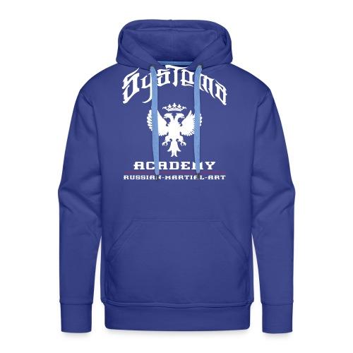 systema eagle spread2 - Sweat-shirt à capuche Premium pour hommes