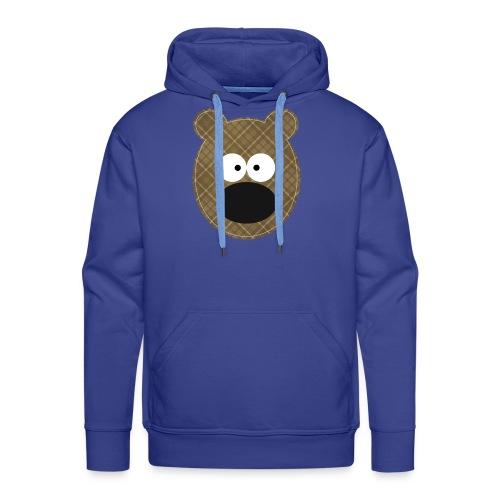 Little Bear - Felpa con cappuccio premium da uomo