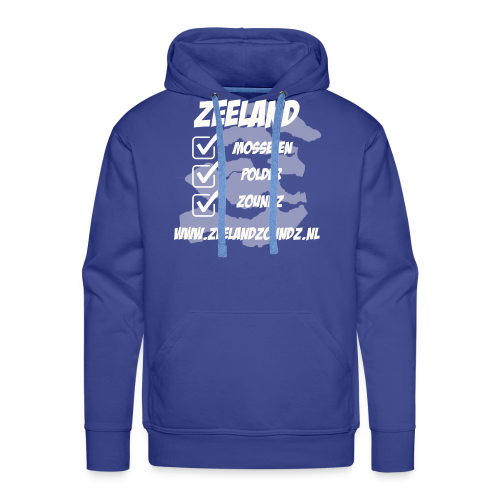 Mosselen - Polder - ZoundZ #girlZ edition - Mannen Premium hoodie