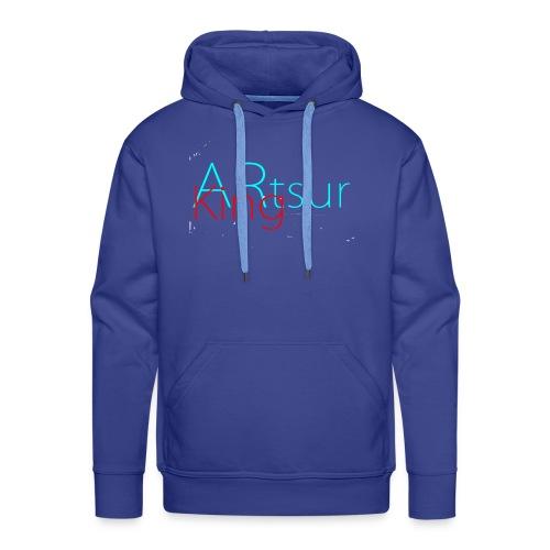 ARtsurKing Logo - Herre Premium hættetrøje