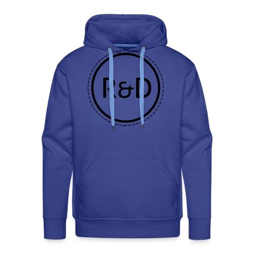 logo_zwart - Mannen Premium hoodie