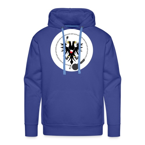 Hanseatic Jugger Logo weiß - Männer Premium Hoodie
