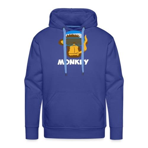 Affen - Monkey - Männer Premium Hoodie