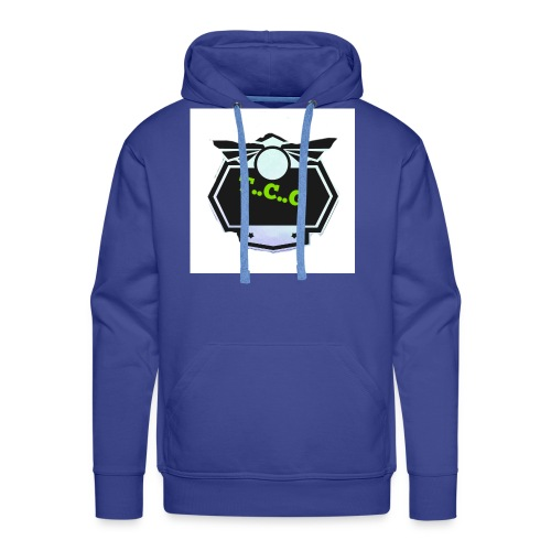 Cool gamer logo - Men's Premium Hoodie