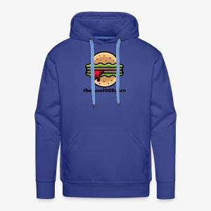belluno FOOD burger - Felpa con cappuccio premium da uomo