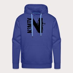 N Noir - Sweat-shirt à capuche Premium pour hommes