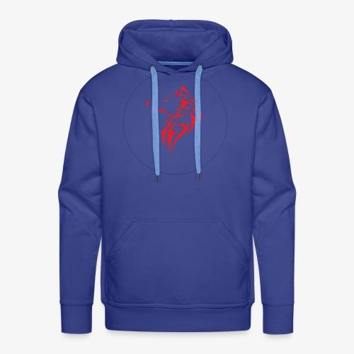 The NoCopyright BassBooster Logo No black - Mannen Premium hoodie