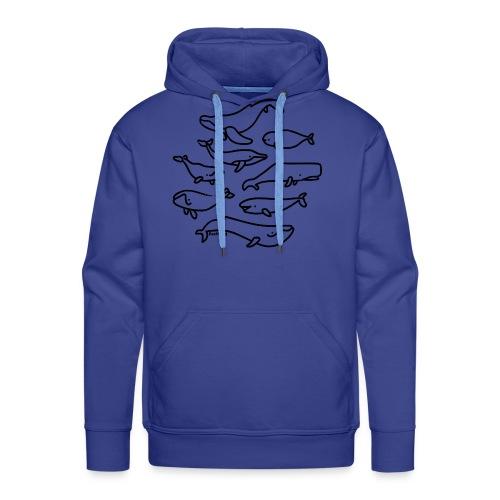 festland whales - Männer Premium Hoodie