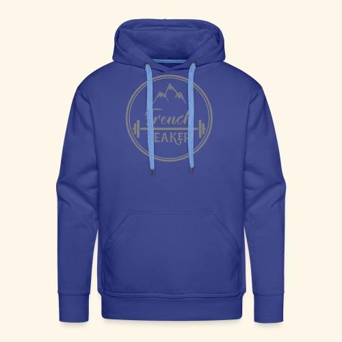 Gris50 transparent sans texte - Sweat-shirt à capuche Premium pour hommes