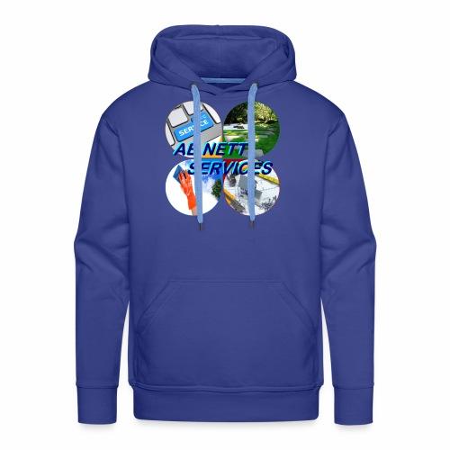 AB NETT SERVICES - Sweat-shirt à capuche Premium pour hommes