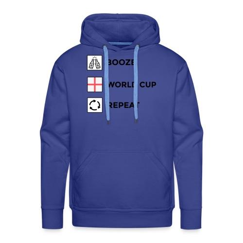 Booze - World Cup - Repeat - Men's Premium Hoodie