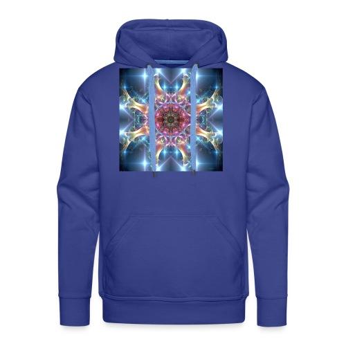 Mandala comienzo - Sudadera con capucha premium para hombre