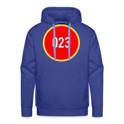 023 logo 2 - Mannen Premium hoodie
