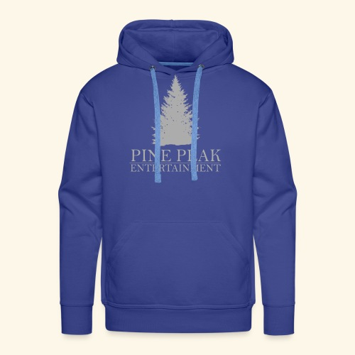 Pine Peak Entertainment Grey - Mannen Premium hoodie