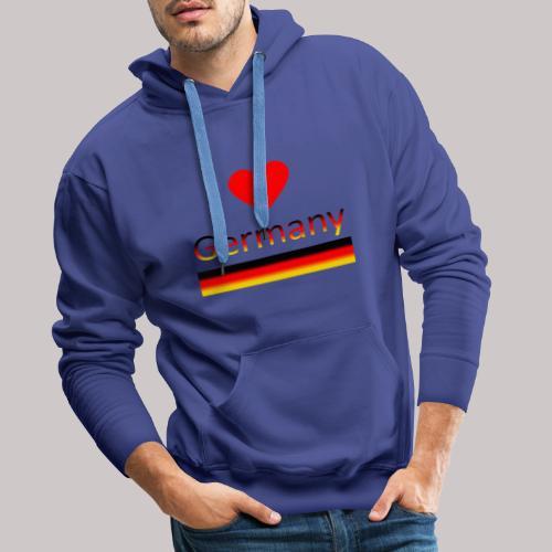 I love Germany - Ich liebe Deutschland - Männer Premium Hoodie