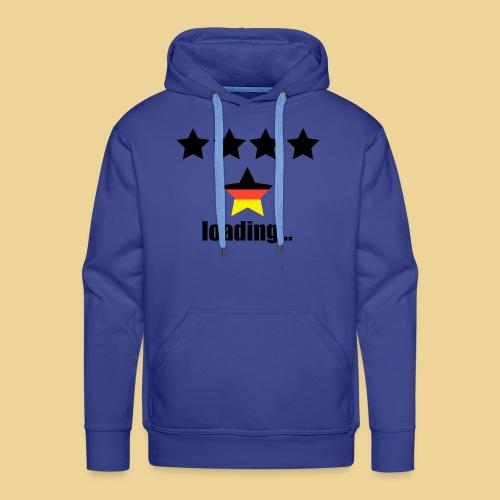 5. Stern für Deutschland? Spezielles WM-Design - Männer Premium Hoodie