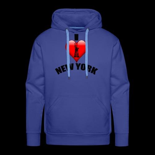 I love New York mit Herz - Männer Premium Hoodie