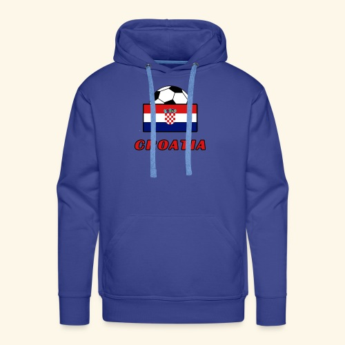 CROATIA TEAM design - Men's Premium Hoodie