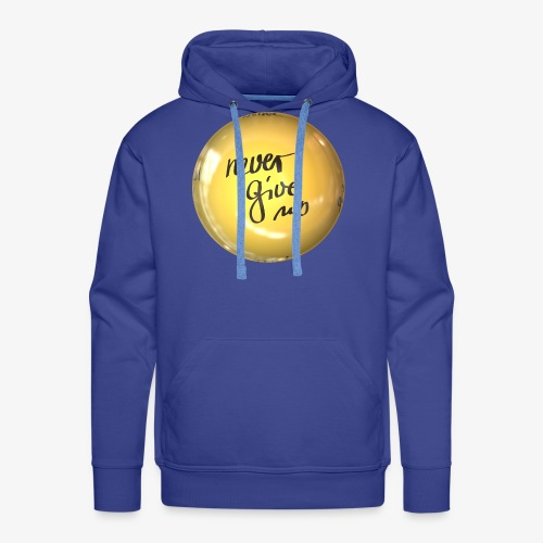 Never Give Up - Männer Premium Hoodie