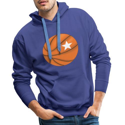 Basketball Star - Männer Premium Hoodie