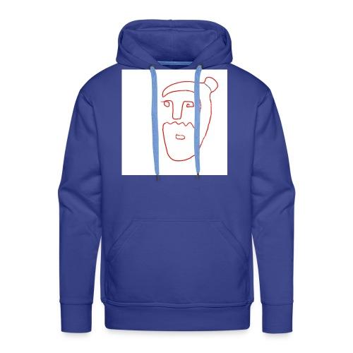 Ilustracio n sin ti tulo 26 - Sudadera con capucha premium para hombre