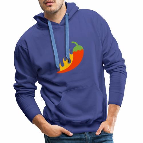 Chile Mexicano - Sudadera con capucha premium para hombre